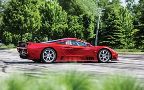 Picture Greens, Saleen, Drives, Supercar, 2005, Twin Turbo, Saleen S7 Twin Turbo