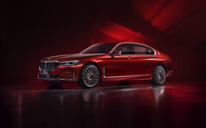 Picture red, BMW, sedan, G12, 7, 7-series, 2019, Radiant Cadenza Immaculate Edition