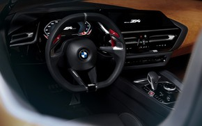 Picture BMW, the wheel, Roadster, 2017, Z4 Concept