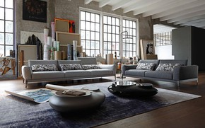 Picture design, style, interior, living room