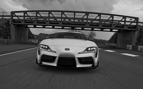 Picture bridge, coupe, before, Toyota, Supra, the fifth generation, mk5, double, 2020, 2019, GR Above, A90, …