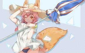 Picture Girl, Umbrella, Fate / Grand Order, The destiny of a great campaign