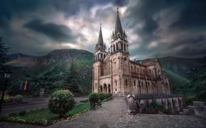 Picture Spain, Principality of Asturias, Basilica of Santa María la Real of Covadonga