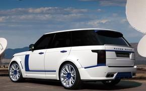 Picture Range Rover, Car, White, Tuning, Lumma, Top Car, Lumma Design, L405, CLR R