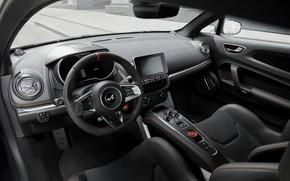 Picture coupe, interior, Alpine, 2019, A110S