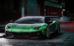 Picture Lamborghini, NFS, Aventador, Electronic Arts, Need For Speed, Liberty Walk, Need For Speed 2015, game …
