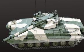 Picture USSR, Experienced tank, Объект 490А Боксер