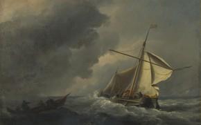 Picture picture, sail, seascape, Willem van de Velde the Younger, Willem van de Velde, The Dutch …