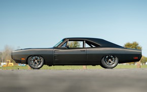 Picture Evolution, 1970, Dodge Charger, Side view, Speedkore