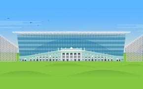 "Picture Background, Football, Figure, Art, Central Stadium, Yekaterinburg, Yekaterinburg Arena, Central stadium, ""Yekaterinburg Arena"", Russia, Stadium, …"