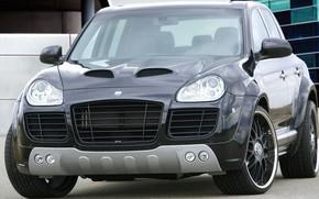 Picture Porsche Cayenne, SUV, five-seat midsize crossover sport, CLR 400 GT, LUMMA-Design