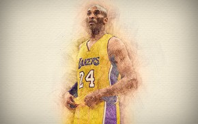 Picture Legend, NBA, Kobe Bryant, Basketball, Bryant, Kobe, American, Los Angeles Lakers, Black Mamba, Mamba