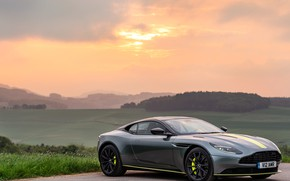 Picture sunset, Aston Martin, 2018, DB11, AMR, Signature Edition