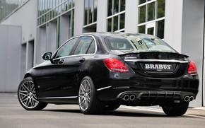 Picture Mercedes-Benz, Brabus, sedan, C-Class, W205, the fourth generation