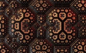 Picture background, color, fractal