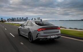 Picture back, sedan, KIA, Kia, Optima, 2020, 2021, fastback, K5, K5 GT-Line AWD, Kia K5, KIΛ