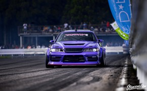 Picture Toyota, Drift, Car, Purple