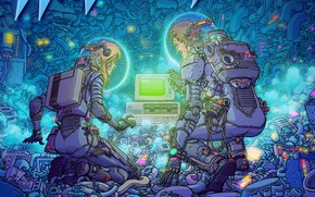 Picture Front, Artifact, Synth Wave, 2019, Waveshaper