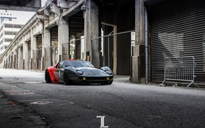 Picture Red, Black, Lamborghini, Machine, Supercar, Miura, Rendering, Concept Art, Lamborghini Miura, Red-black, Transport & Vehicles, …