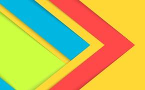Picture line, yellow, corners, yellow, lines, fon, corners