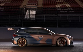 Picture side view, Leon, Competition, Seat, Cupra, 2020