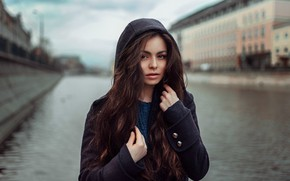 Picture autumn, girl, model