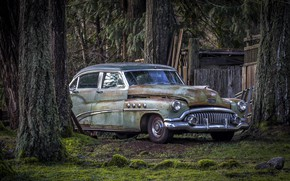 Picture machine, background, Buick