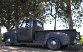 Picture tuning, 150, pickup, 2018, GMC, 1949, ICON, Long Bed Derelict, GMC 150