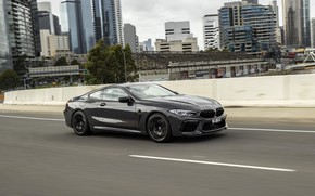 Picture the city, grey, coupe, BMW, 2020, BMW M8, M8, M8 Competition Coupe, M8 Coupe, F92, …
