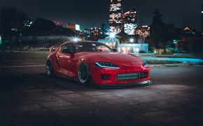 Picture Auto, Machine, Red, Toyota, Car, Render, Style, Supra, Sports car, Sportcar, Khyzyl Saleem, by Khyzyl …