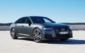 Picture Audi, Quattro, S-Line, Audi A6, 2019, 55 TFSI
