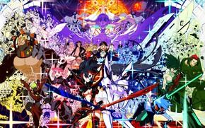Picture lights, Shine, art, characters, Kill La Kill, Smash slash
