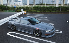 Picture NISSAN, S14, JDM, SILVIA