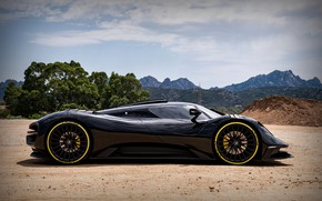 Picture Prototype, side view, 2020, V8, 2021, 715 HP, ARES Design, S1 Project