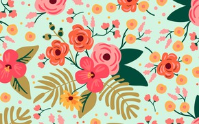 Picture flowers, background, background, floral