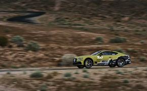 Picture coupe, Bentley, Continental GT, in motion, 2019, 626 HP