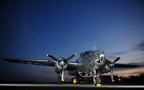 Picture Bomber, USAF, B-25J Mitchell, Miss Mitchell