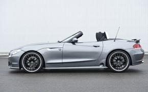 Picture grey, BMW, profile, Roadster, Hamann, 2010, E89, BMW Z4, Z4