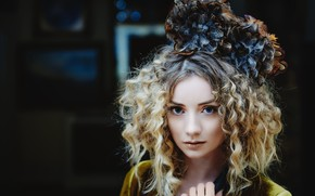 Picture girl, style, portrait