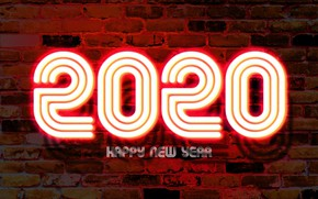 Picture background, wall, holiday, lamp, New year, New Year, 2020