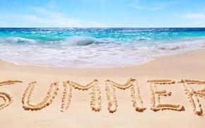 Picture sand, sea, beach, summer