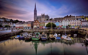 Picture Marina, boats, Ireland, Cork