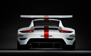 Picture coupe, 911, Porsche, rear view, RSR, 2019