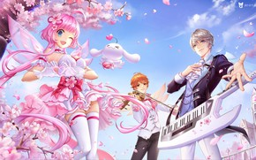 Picture love, music, mood, spring, art, heart, 叁乔居 3QSTUDIO, QQ炫舞