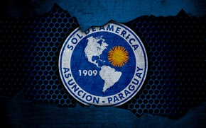 Picture wallpaper, sport, logo, football, Sol De America