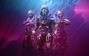 Picture Hunter, Bungie, The warlock, Titan, Destiny, Destiny 2, Сплайсер