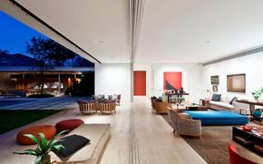 Picture Villa, interior, terrace, living room, JKO House