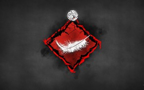 Picture background, pen, shell, emblem, Lightweight, Dead by Daylight