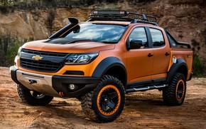 Picture Chevrolet, pickup, 4x4, Colorado, Z71, 2016, Xtreme Concept, the wheel arches