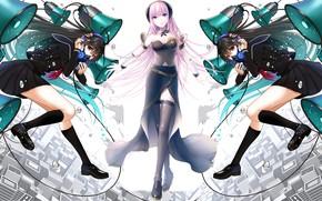 Picture girls, anime, Vocaloid, Vocaloid